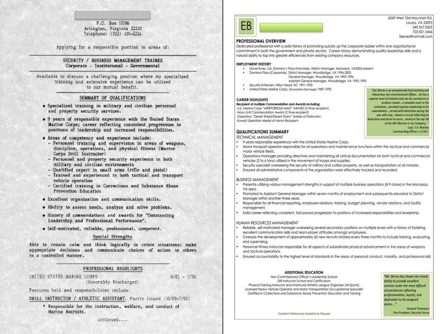 Military Veteran Resume Examples. Resume Objective Examples Sample