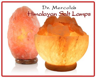 Himalayan Salt Crystal Lamps