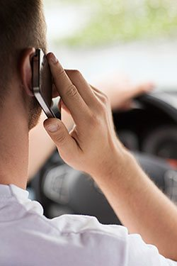 Cell Phone Dangers while driving