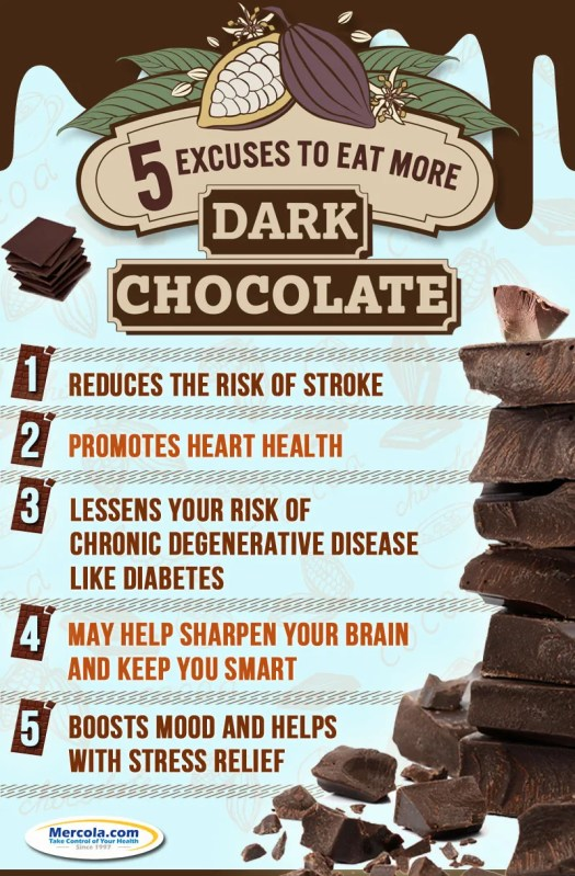 Dark Chocolate Infographic