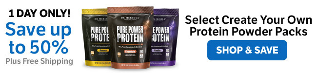 Save up to 50% on Select Make Your Own Protein Powder Packs