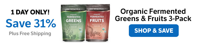 Save 31% on Make-Your-Own Organic Fermented Greens & Fruits 3-Pack
