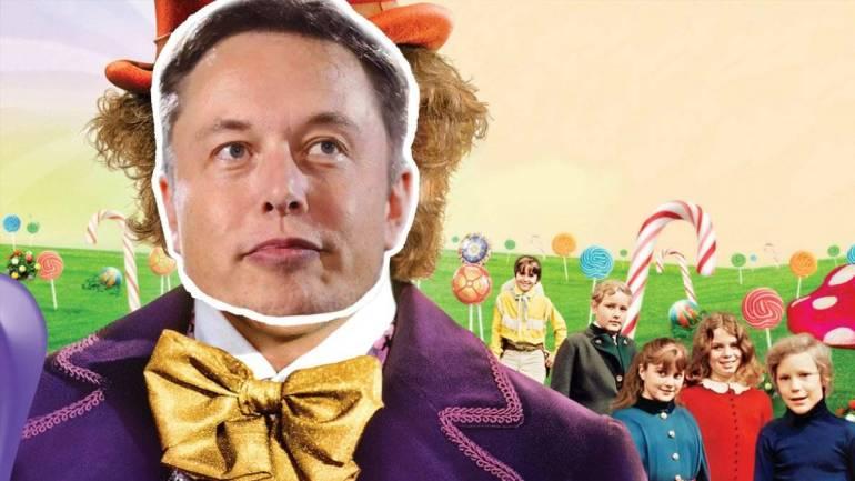 Elon Musk ahora quiere vender dulces aparentemente