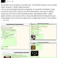 Incels a la chilena: publica fotos, datos y amenazan a mujeres en lugar de e 39; Internet