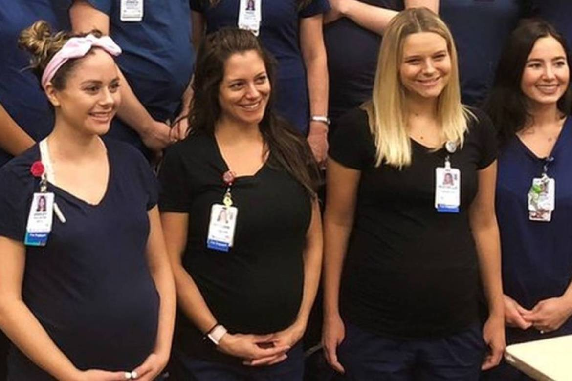 The curious case of the 16 nurses pregnant at the same time in an Arizona hospital