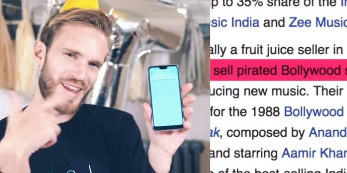 PewDiePie es destronado por T-Series como el canal más popular de YouTube