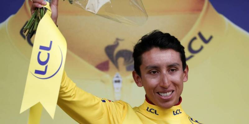 ¡Egan Bernal, campeón virtual del Tour de Francia!