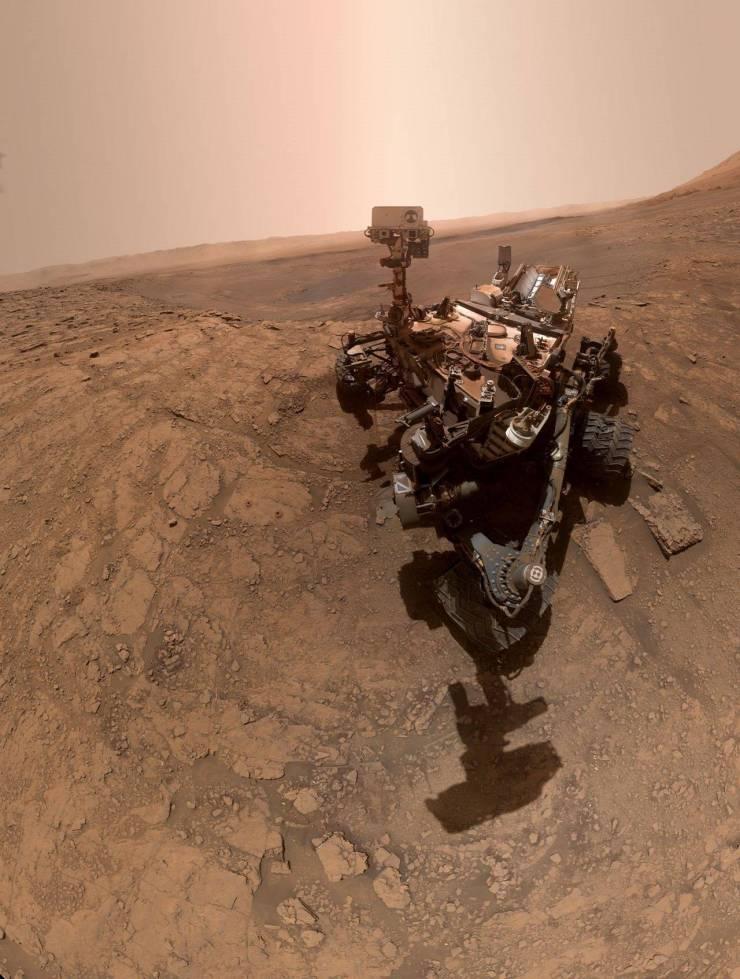 NASA: robot Curiosity comparte imagen 360º de la superficie de Marte