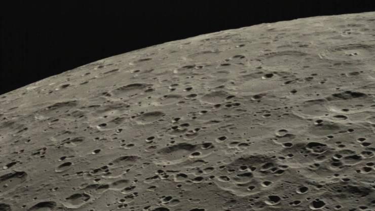 Luna: mira en 4K lo que la tripulación del Apolo 13 observó cuando recorrió el satélite