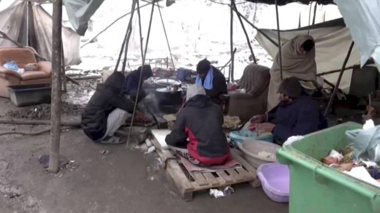 Campo de refugiados en Vucjak