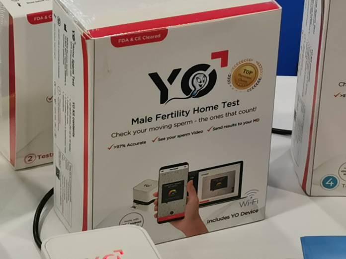 Hombres: Test de fertilidad digital permitirá comprobar calidad de esperma #CES2020