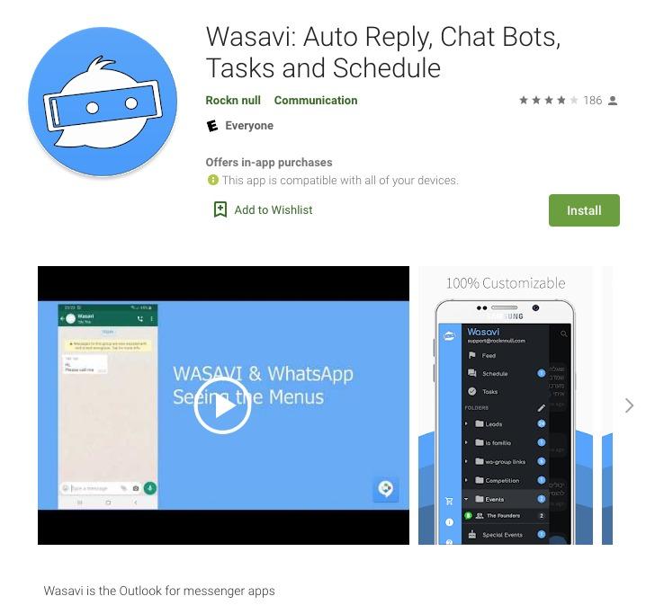 WhatsApp programar