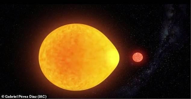 Estrella: astrónomos descubren cuerpo celeste con forma de lágrima