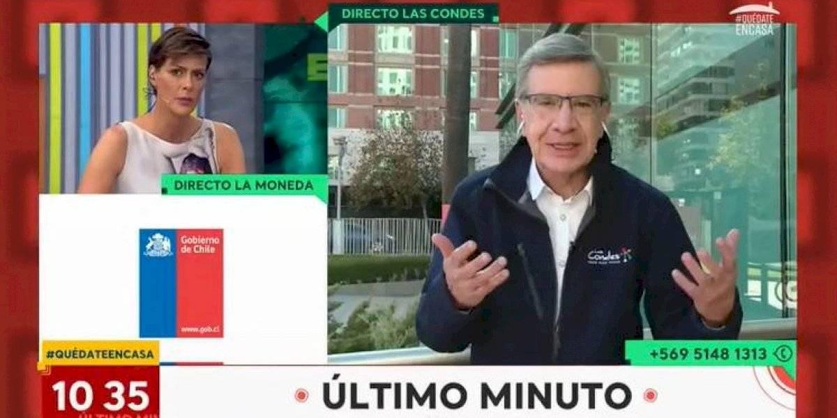 """Joaquín Lavín en """"Bienvenidos"""" sobre dictamen de la Contraloría: """"Gobernar es comunicar"""""""