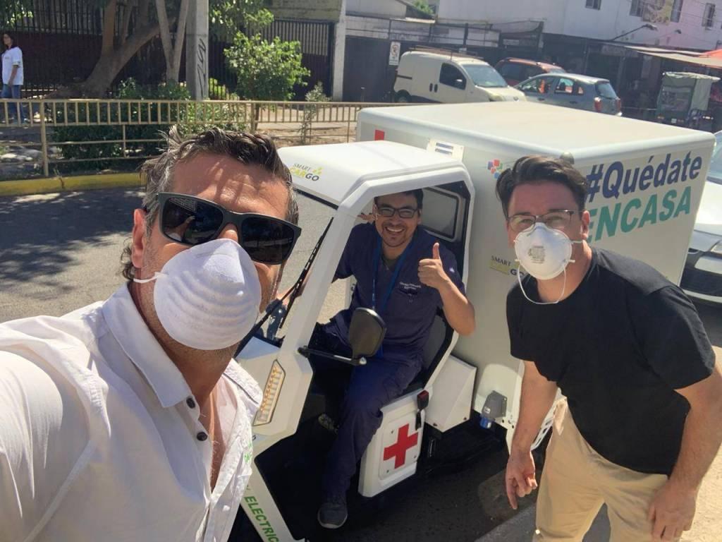 Coronavirus en Chile: presentan el primer vacunatorio eléctrico móvil del país