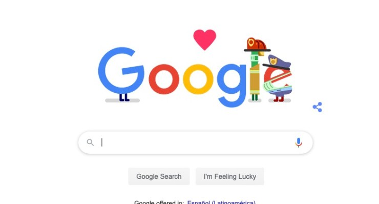 Google coronavirus doodle
