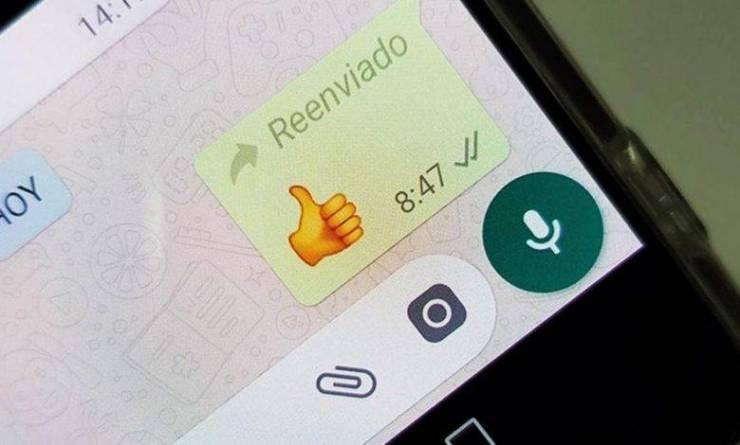WhatsApp Reenviado
