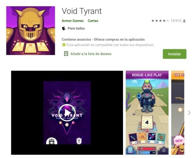 Google Android juegos