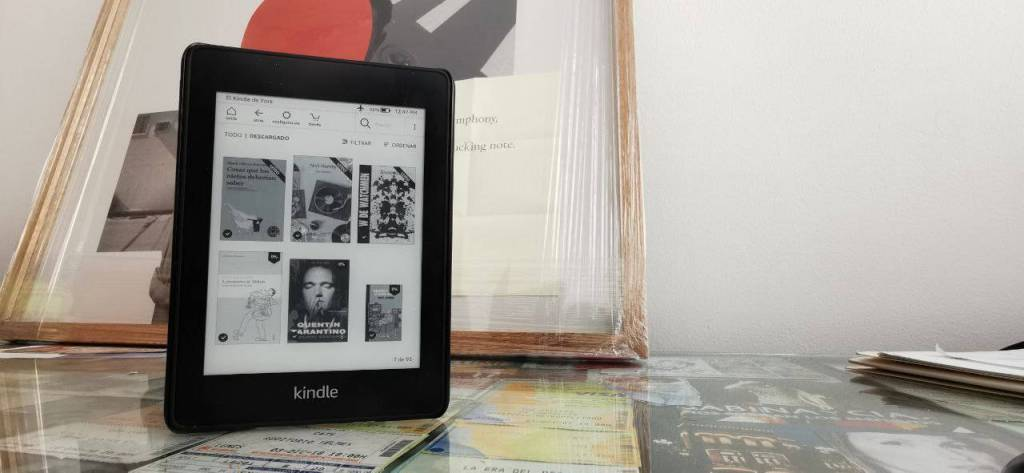 Amazon Kindle Paperwhite: así puedes poner portadas a tus libros descargados