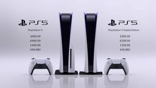 PlayStation 5 tamaño