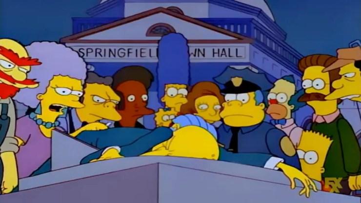 Los Simpson misterio