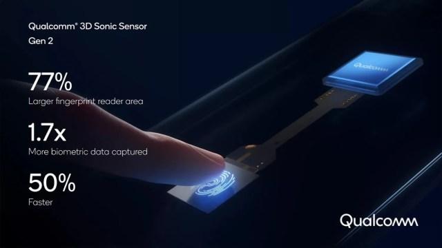 Qualcomm presenta su nuevo lector de huellas bajo pantalla 3D Sonic Sensor Gen 2