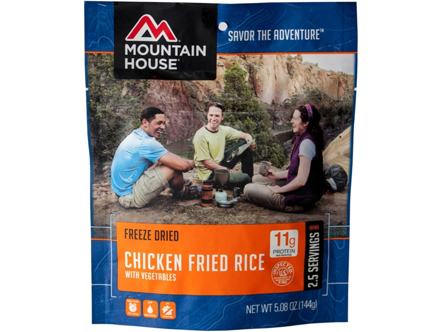 Mountain House Chicken Fried Rice Freeze Dried Food