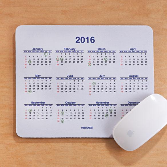 Calendar Mouse Pad Calendar Mouse Pad 2016 Miles Kimball