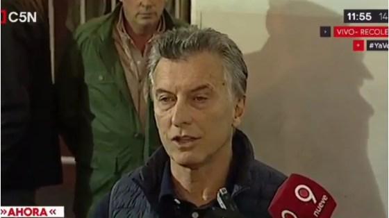 Tras la aparición de Santiago, Macri confirmó que no echará a Bullrich