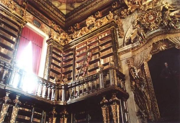 La Biblioteca Joanina de la Universidad de Coímbra