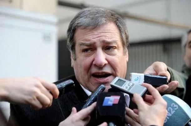 Secretario de prensa de la Unión Tranviaria Automotor (UTA), Mario Calegari.