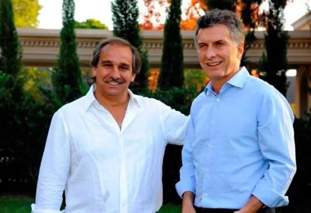 Nicolás Caputo y Mauricio Macri se conocen de toda la vida
