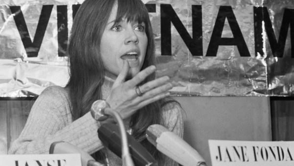Resultado de imagen para Jane Fonda arresto
