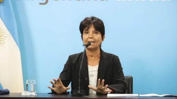 Mercedes Marcó del Pont, titular de AFIP