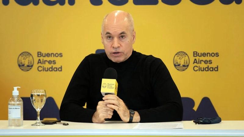 Rodríguez Larreta acompañará el endurecimiento de la cuarentena si se sigue  acelerando el ritmo de contagios