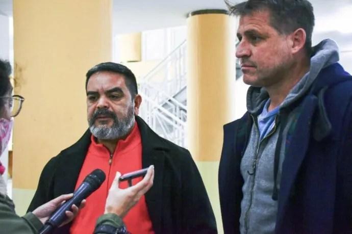 Santiago Olivera Aguirre y Héctor Zavala Agüero, abogados de los padres de Guadalupe Lucero