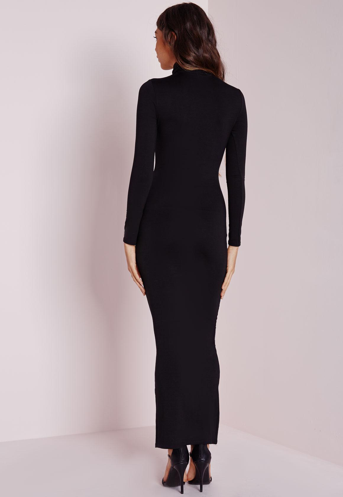 Dresses Black Long Sleeve Prom