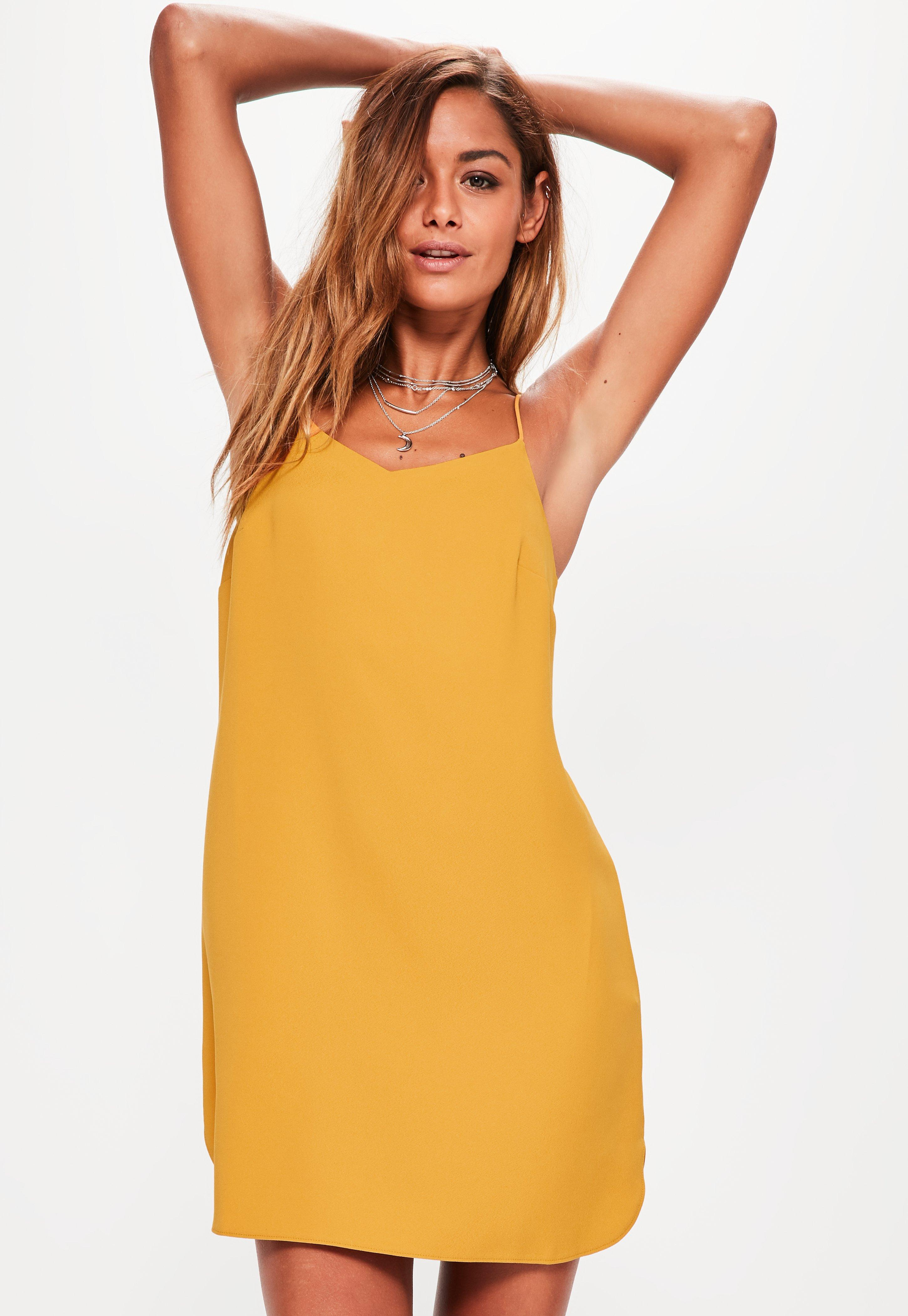 Yellow Dress Plus Size