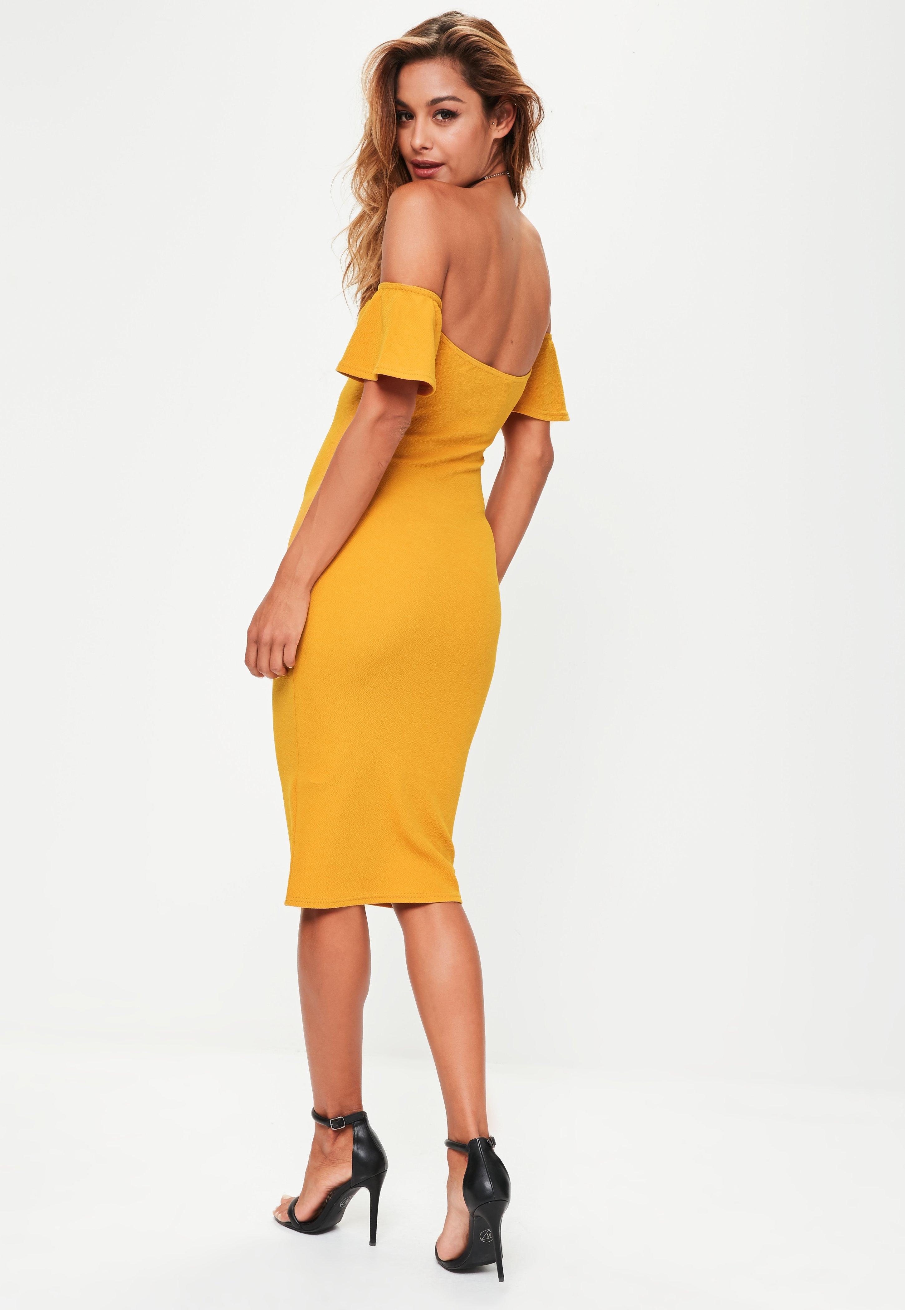 Yellow Dress Bodycon