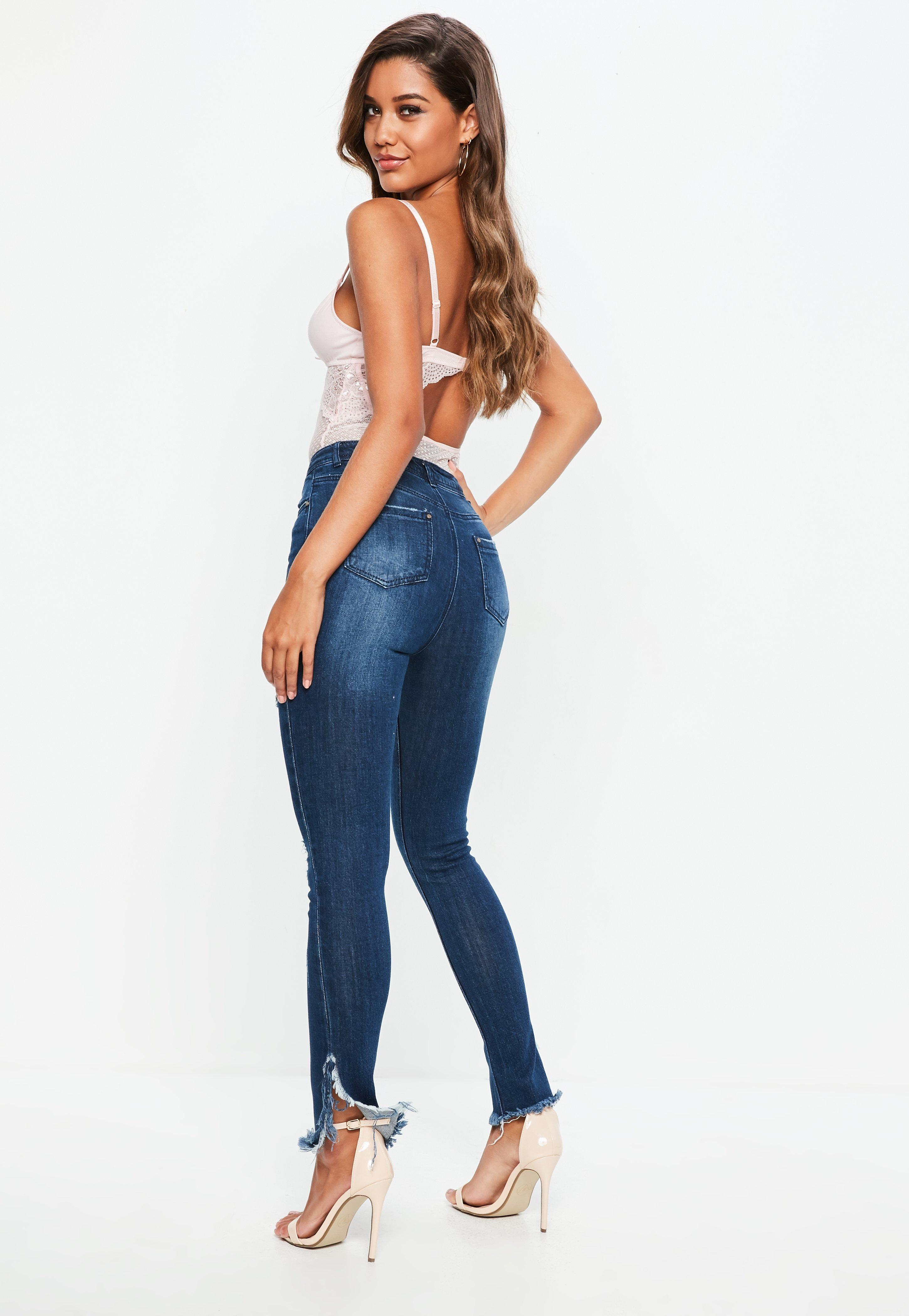 Plus Jeans Distressed Size Skinny