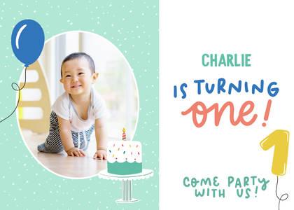 First Birthday Invitations Online