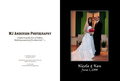 Nicole & Ken's wedding book preview