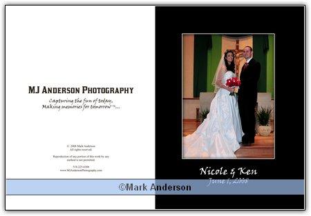 Nicole and Ken's final album design