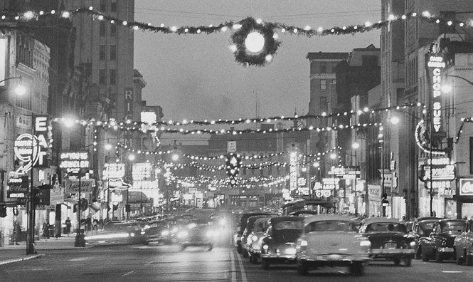 Peek Through Time In 1950s Downtown Jackson During