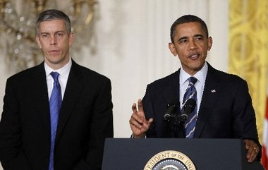 Duncan and Obama