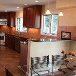Kalamazoo Woman S Remodeled Kitchen Includes Solid Cherry