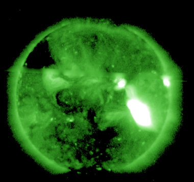 Geomagnetic storm watch issued due to exploding sunspot, Northern lights possible