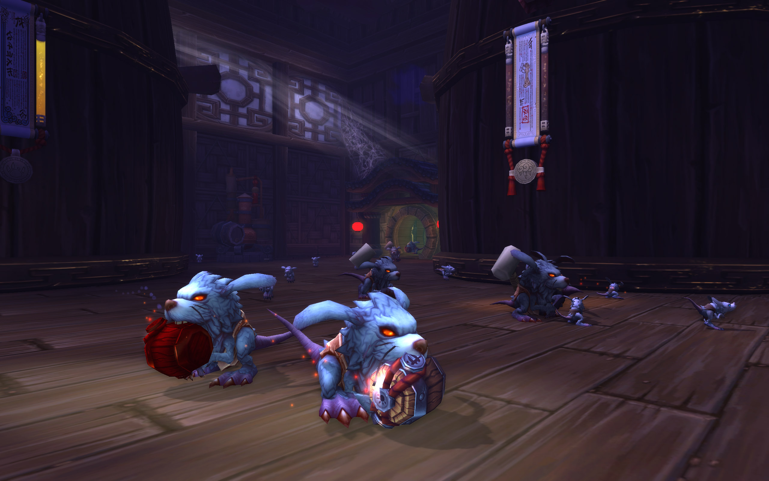 Verming enemies in the Stormstout Brewery dungeon in Mists of Pandaria