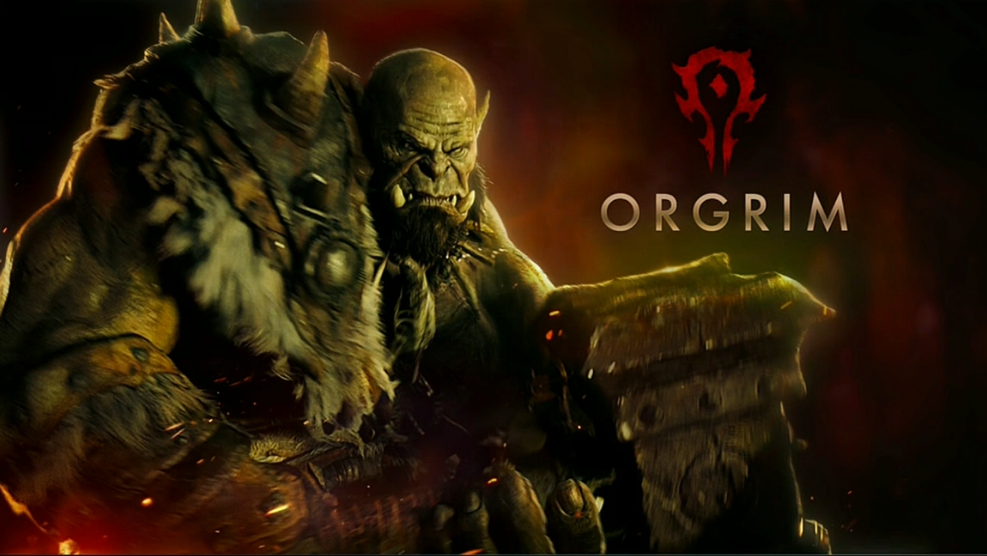 Warcraft Movie Updated Preview Of Orgrim MMO Champion