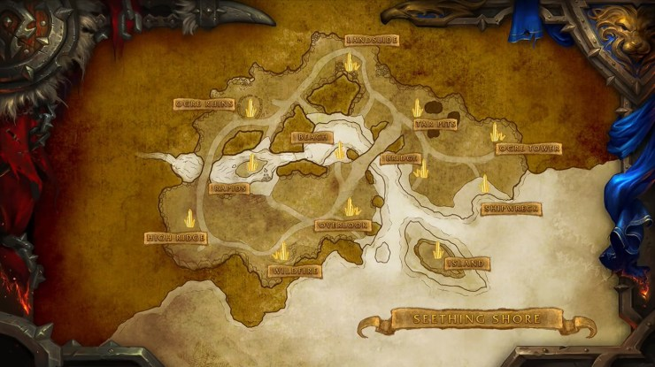 World of Warcraft's Seething Shore battleground is now live
